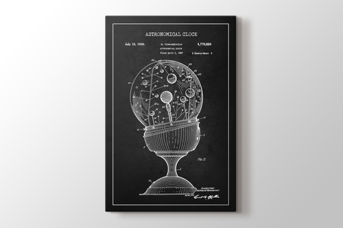 Picture of Astronomical Clock Patent