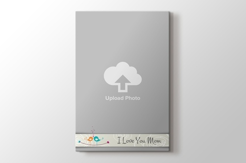Picture of I love you Mom Photo on Canvas Print