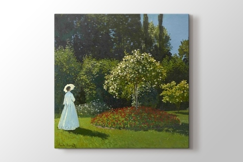 Picture of Lady in the Garden