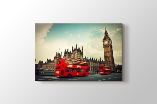 Picture of Big Ben and Red Buses