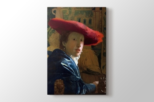 Picture of Girl With The Red Hat