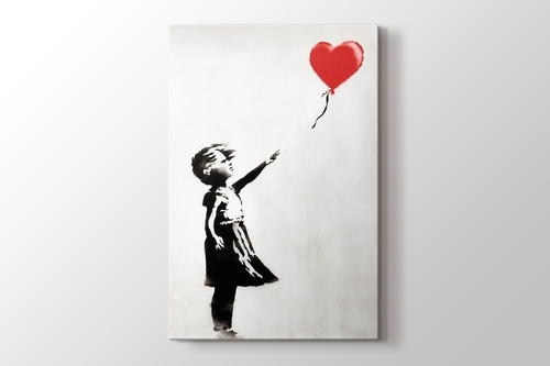 Picture of Girl With Balloon