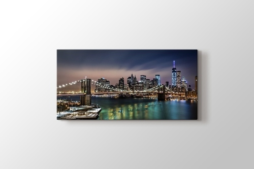 Picture of Brooklyn Bridge Night