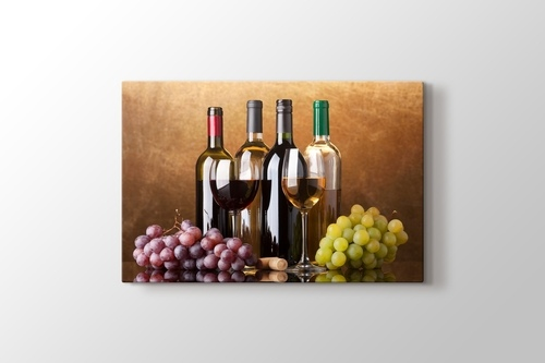 Picture of Red and White Wine