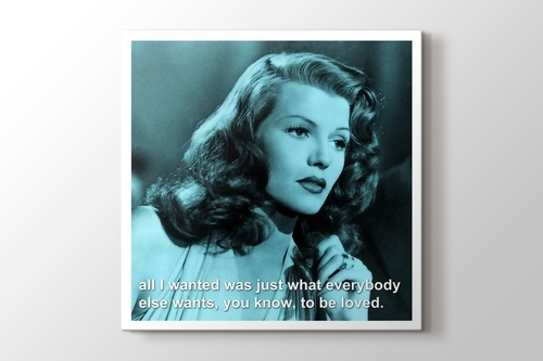 Picture of Rita Hayworth - To Be Loved
