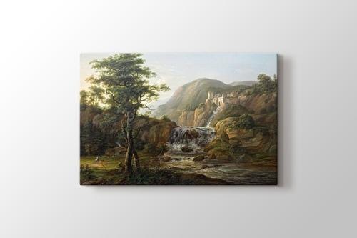 Picture of Gebirgslandschaft mit Wasserfall