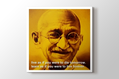 Picture of Gandhi - Live and Learn