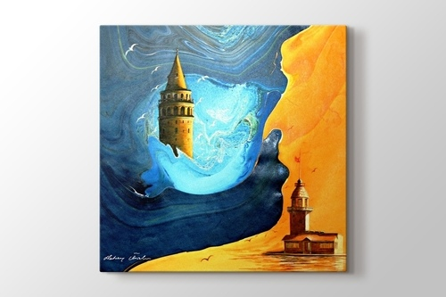 Picture of Kulelerde Gün Batımı