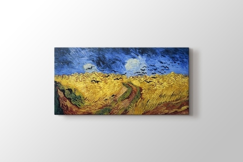Picture of Wheatfield With Crows
