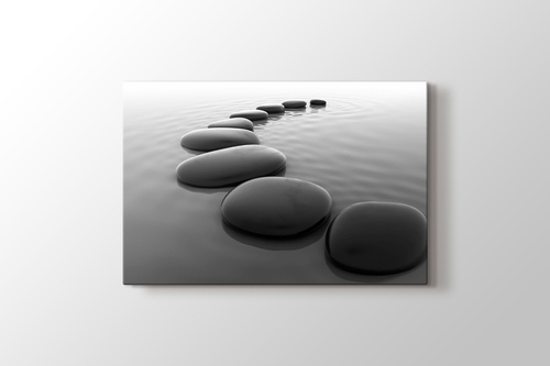 Picture of Pebbles on Sand